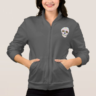 Day of the Dead Sugar Skull - Bright Multi Color Printed Jackets