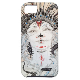 Day of the Dead Sugar skull iphone case Ruth Park