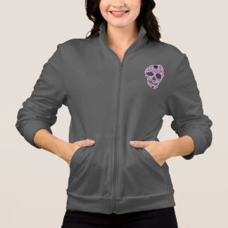 Day of the Dead Sugar Skull - Pink & Purple 2.0 Jackets