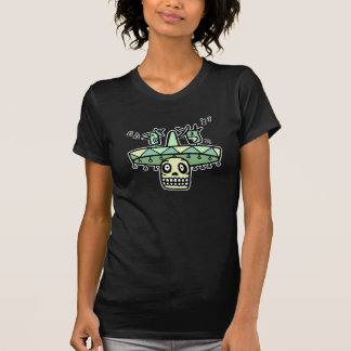Day of the Dead Tiki Birds Tee Shirt