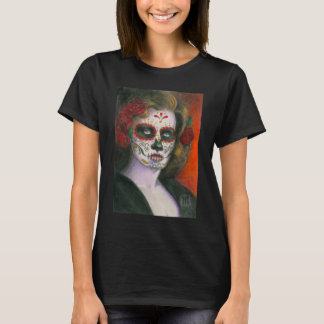 Day of the Dead with Roses T-Shirt
