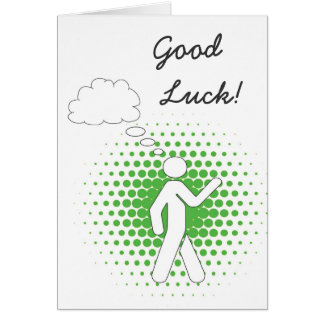 daydreamer Good Luck! Greeting Card