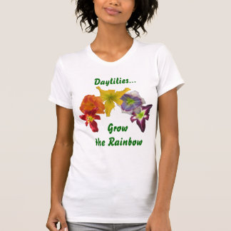 Daylilies Grow the Rainbow T-Shirt