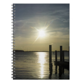 Days End At Cooper River Notebook