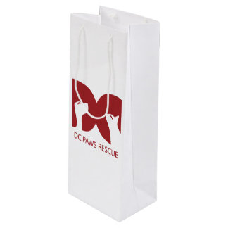 DC PAWS Original - Wine Gift Bag