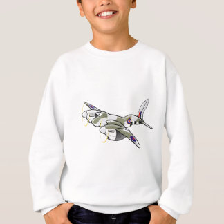 de havilland mosquito sweatshirt