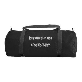 Dead Body Gym Bag