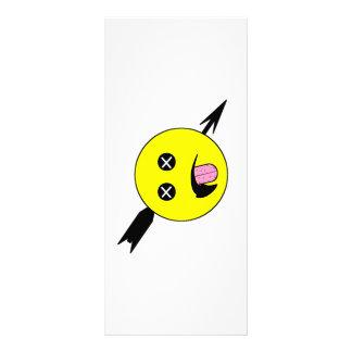 Dead Smiley Personalised Rack Card