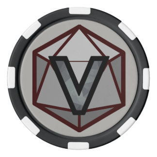 DEADLANDS - Grey Team Poker Chip