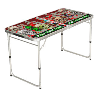 DEADLY GRAPHIC STUDIO.COM  MULTI ART TABLE! PONG TABLE