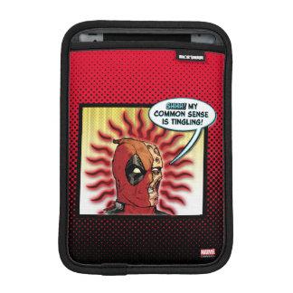 Deadpool Common Sense iPad Mini Sleeve