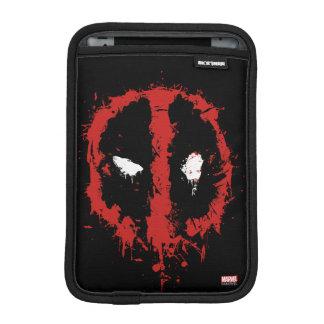 Deadpool Paint Splatter Logo iPad Mini Sleeve