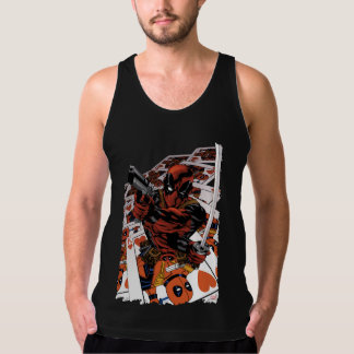 Deadpool Playing Cards Singlet