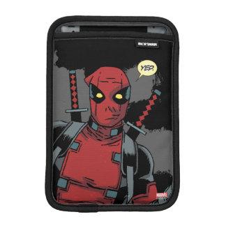Deadpool Yep iPad Mini Sleeve