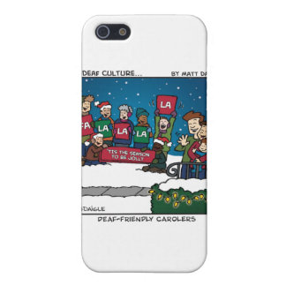 Deaf-Friendly Carolers Case For The iPhone 5