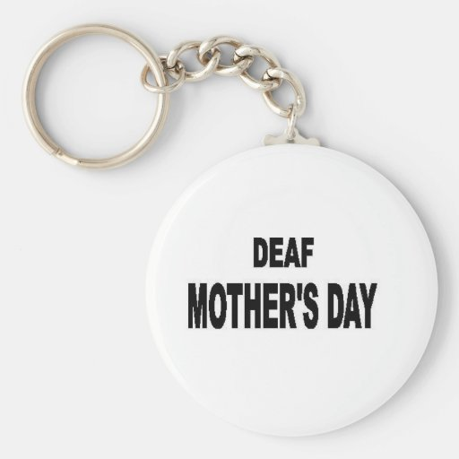 deaf mother's day key chains