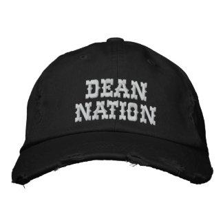 Dean Nation Distressed Adjustable Cap