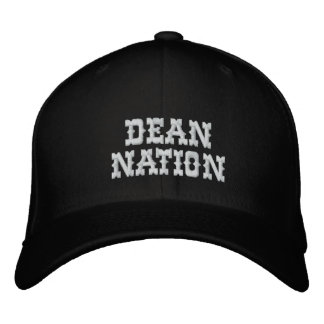 Dean Nation Personalized Fitted Cap