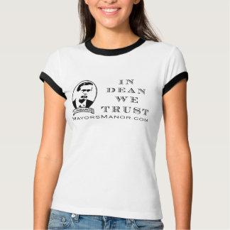 Dean Trust - Ladies Ringer s/s Shirt