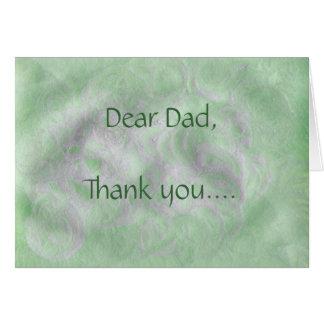 Dear Dad - Father's Day Card