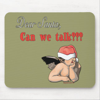 Dear Santa Series Mouse Pads