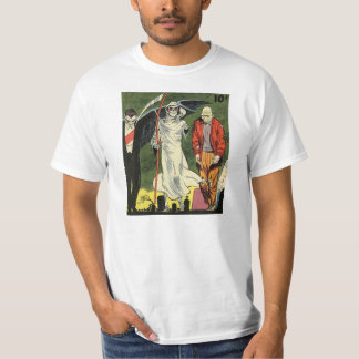 Death and the Gang Classic Comic Book Art T-Shirt