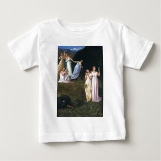 Death and the Maidens by Pierre Puvis de Chavannes Baby T-Shirt