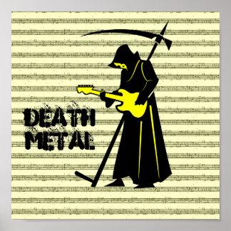 Death Metal Musical Duel Poster