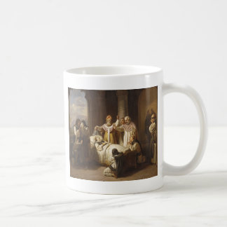 Death of Saint Margaret of Hungary - Jozsef Molnar Coffee Mug