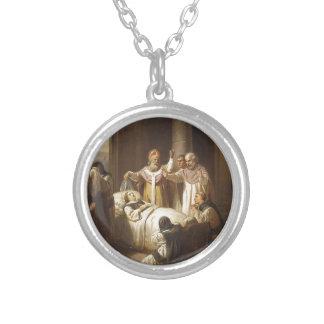 Death of Saint Margaret of Hungary - Jozsef Molnar Pendants