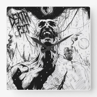 Death Pit Wall Clock! Clocks