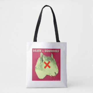 DEATH TO SQUIRRELS™ tote med. wht