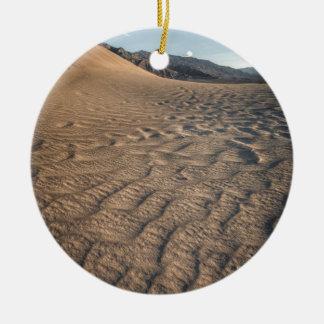 Death valley, desert natural sand dunes near devil christmas tree ornaments