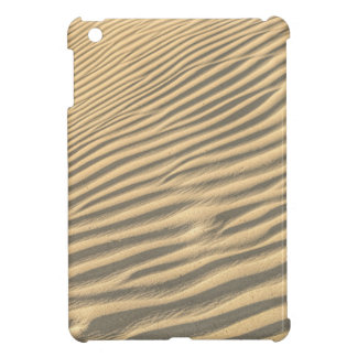 Death valley, desert natural sand dunes near devil iPad mini cover