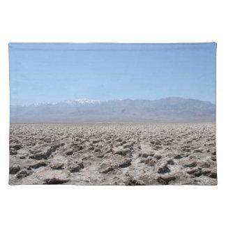 Death Valley - Devil's Golf Course Placemat