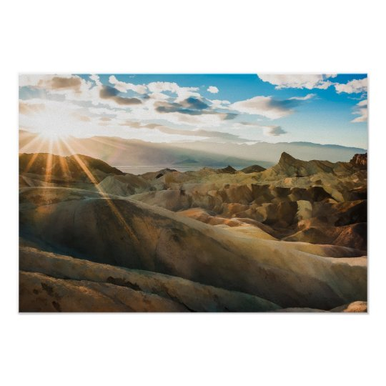 Death Valley Inyo County California Poster