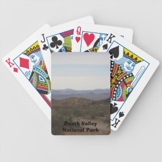 Death Valley National Park Bicycle Playing Cards