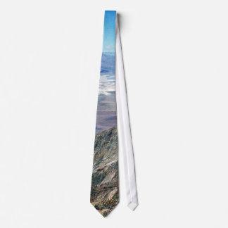 Death Valley Salt Desert Mountains Tie