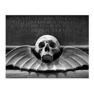 Deathhead, Cabinet card Postcard