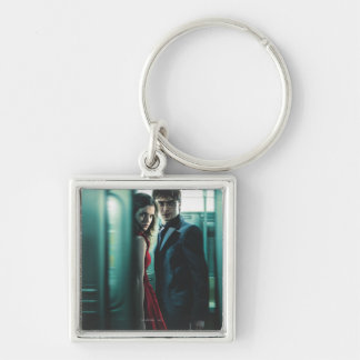 Deathly Hallows - Harry and Hermione Key Ring