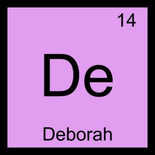 Baby name deborah gifts on zazzle nz deborah name chemistry element periodic table baby t shirt urtaz Images