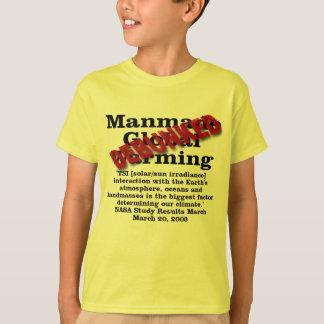 Debunked Manmade Global Warming T-Shirt