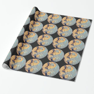 Decay Yin Yang Gift Wrap Wrapping Paper