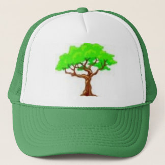 decidious tree trucker hat