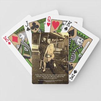 Deck of Vintage Photo Cards Friendship