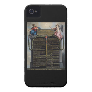 Declaration of the Rights of Man and Citizen iPhone 4 Covers