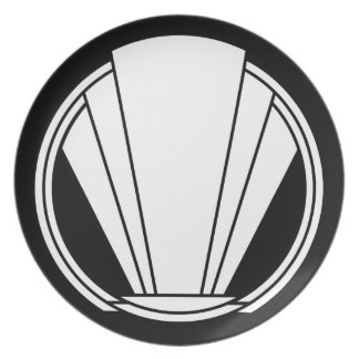 Deco - Untitled, Dinner/Party Plate