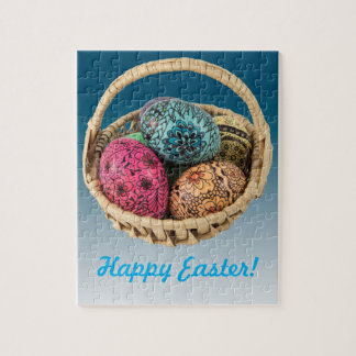 Decorated Egg Basket Puzzle