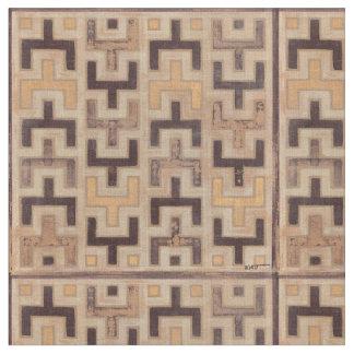 Decorative African Mudcloth Pattern Fabric