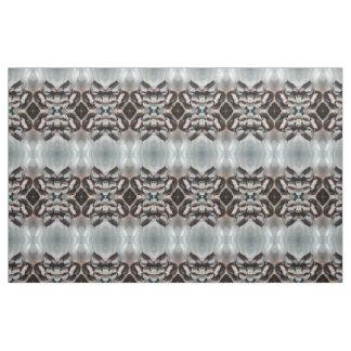 decorative black grey white diamonds fabric